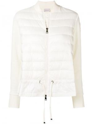 Дутая куртка-бомбер Moncler