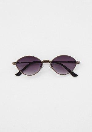Очки солнцезащитные Bocciolo. Цвет: серый