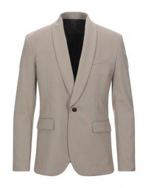 Пиджак PAOLO PECORA. Цвет: песочный