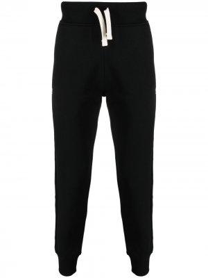 Спортивные брюки с логотипом Hydrogen. Цвет: черный