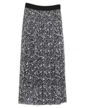 Длинная юбка GARCIA. Цвет: черный