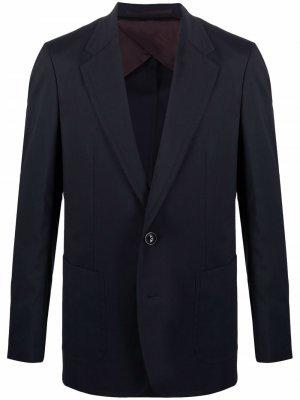 Однобортный пиджак Kolor. Цвет: синий