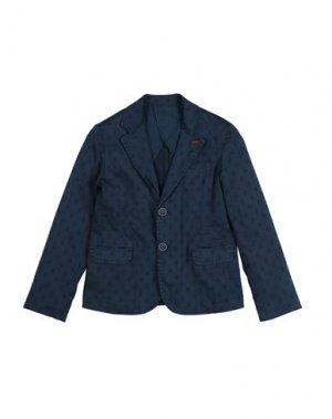 Пиджак MANUELL & FRANK. Цвет: темно-синий