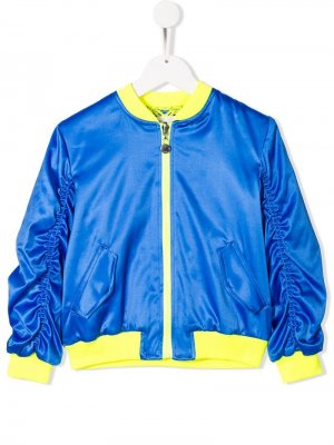 Куртка-бомбер на молнии Alberta Ferretti Kids