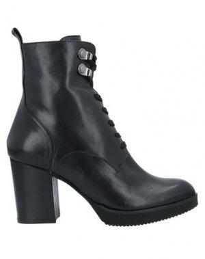 Полусапоги и высокие ботинки CRISTIAN DANIEL. Цвет: черный
