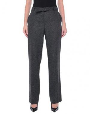 Повседневные брюки PHILOSOPHY di ALBERTA FERRETTI. Цвет: свинцово-серый