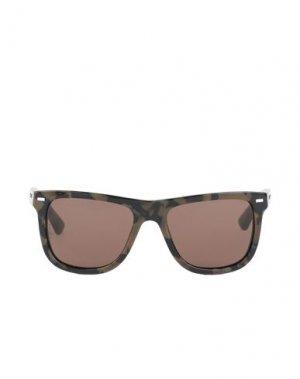 Солнечные очки DOLCE & GABBANA. Цвет: зеленый-милитари