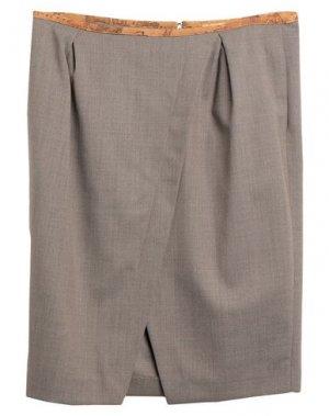 Юбка до колена ALVIERO MARTINI 1a CLASSE. Цвет: серый