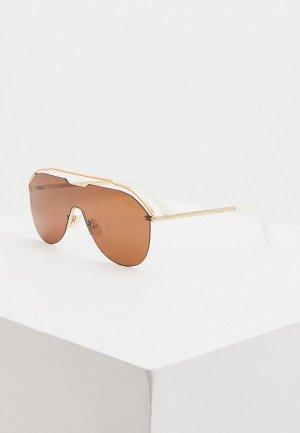 Очки солнцезащитные Fendi FF M0030/S 09Q. Цвет: оранжевый