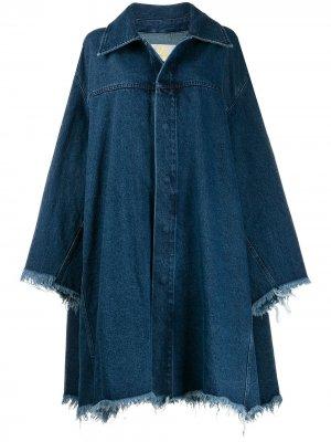MarquesAlmeida джинсовая куртка оверсайз Marques'Almeida. Цвет: синий