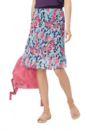 Skirt Christian Berg. Цвет: light blue, pink