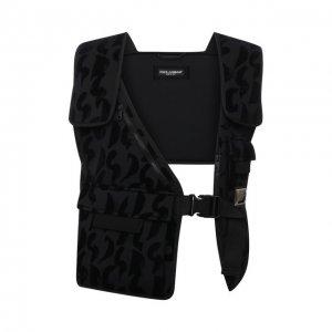 Жилет Dolce & Gabbana. Цвет: чёрный