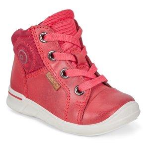 Ботинки FIRST ECCO. Цвет: красный