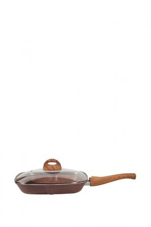 Сковорода-гриль 27х26 PANAIRO. Цвет: терракотовый