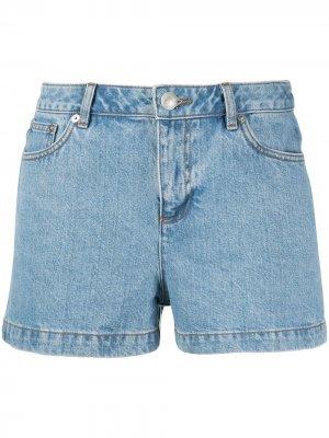 Короткие джинсовые шорты A.P.C.. Цвет: синий