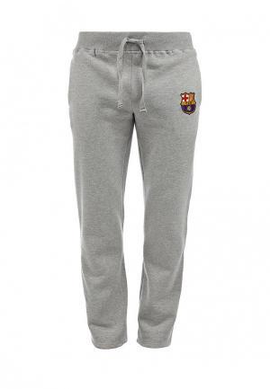 Брюки спортивные Atributika & Club™ FC Barcelona. Цвет: серый