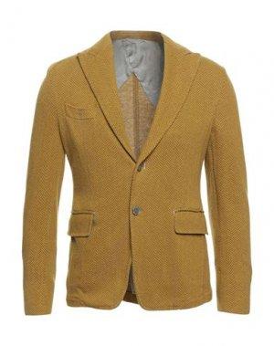 Пиджак JOHN SHEEP. Цвет: желтый