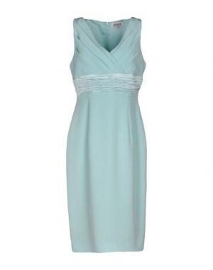 Платье до колена LEXUS. Цвет: светло-зеленый