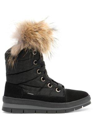 Ботинки комбинированные на меху JOG DOG