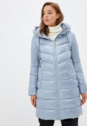 Куртка утепленная Britt и снуд. Цвет: голубой