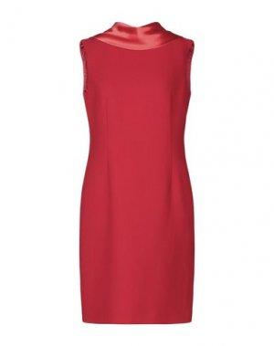 Короткое платье BOTONDI COUTURE. Цвет: красный