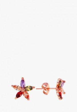 Серьги Ice&High Collection. Цвет: разноцветный