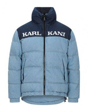 Джинсовая верхняя одежда KARL KANI. Цвет: синий
