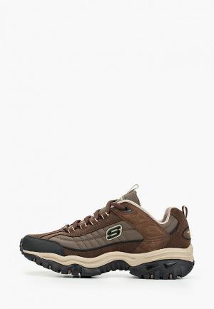 Кроссовки Skechers ENERGY - DOWNFORCE. Цвет: коричневый
