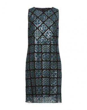 Короткое платье ELIE TAHARI. Цвет: черный
