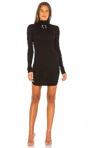 Мини платье janet Frankie B. Цвет: черный