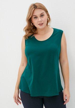 Майка Darissa Fashion. Цвет: зеленый