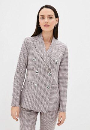 Пиджак Belucci. Цвет: разноцветный