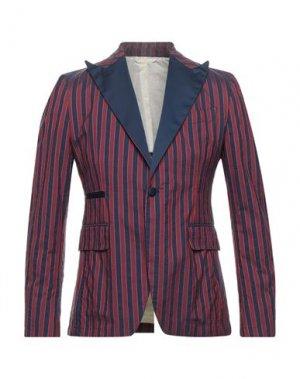 Пиджак JOHN SHEEP. Цвет: пурпурный