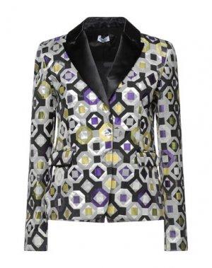 Пиджак AU JOUR LE. Цвет: серый