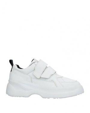 Кеды и кроссовки VAGABOND SHOEMAKERS. Цвет: белый