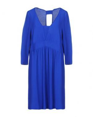 Короткое платье BA&SH. Цвет: ярко-синий