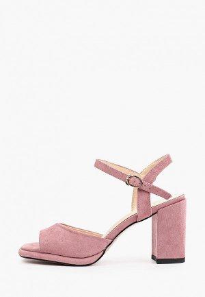 Босоножки Inario. Цвет: розовый