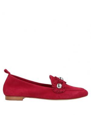 Мокасины ANNA F.. Цвет: красный