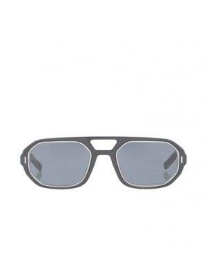 Солнечные очки DIOR HOMME. Цвет: черный