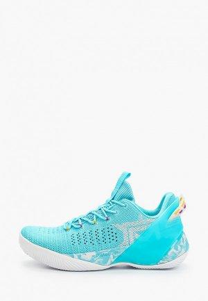 Кроссовки Anta Basketball. Цвет: голубой