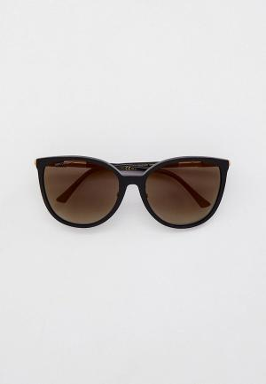 Очки солнцезащитные Jimmy Choo RAYE/G/SK 807. Цвет: черный