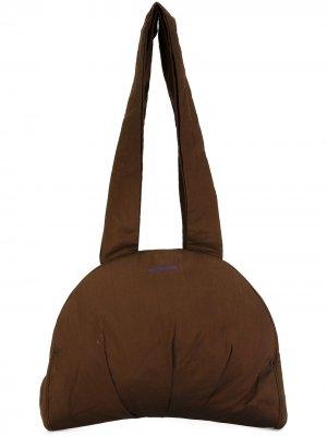 Полукруглая сумка на плечо Romeo Gigli Pre-Owned. Цвет: коричневый