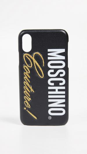 Couture! iPhone XS / X Case Moschino