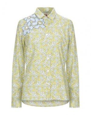 Pубашка ANDREA TURCHI. Цвет: желтый