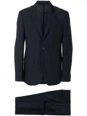 Классический приталенный костюм-двойка Givenchy. Цвет: черный