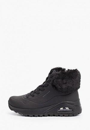 Ботинки Skechers UNO RUGGED. Цвет: черный