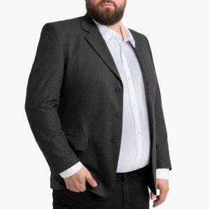 Пиджак LaRedoute. Цвет: серый