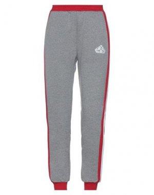 Повседневные брюки FORNARINA. Цвет: серый