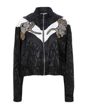 Куртка RELISH. Цвет: черный