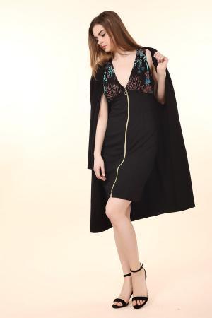 Короткое платье Just Valeri. Цвет: чёрный